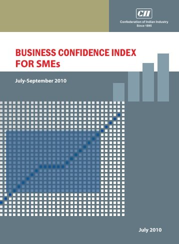 BUSINESS CONFIDENCE INDEX FOR SMEs - CII