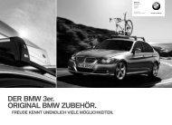 DER BMW 3er. ORIGINAL BMW ZUBEHÖR. - BMW Diplomatic Sales