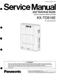 KX-TD 816