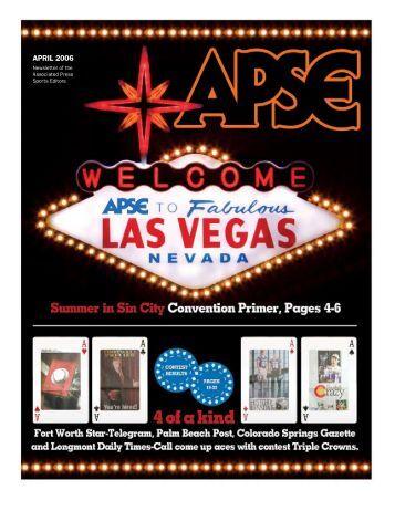 April 2006 - Associated Press Sports Editors - APSE