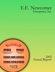 2002 DH Pace Annual Report