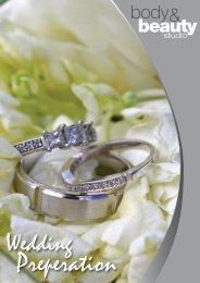 Wedding Preperation PDF sheet - Body & Beauty Studio