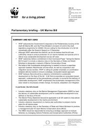 Marine Bill - Oct 08_FINAL - WWF UK