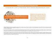 Zum Programm - Ergotherapie Austria