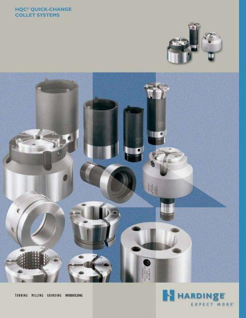HQC® QuiCk-CHange COLLeT SYSTeMS - Hardinge Inc.