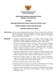 03/PRT/M/2012 - Departemen Pekerjaan Umum