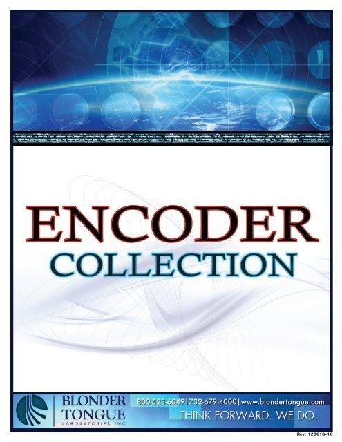 COLLECTION - Blonder Tongue Laboratories Inc.