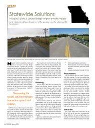 State - Missouri - Aspire - The Concrete Bridge Magazine