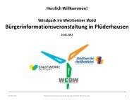 Windpark Welzheimer Wald