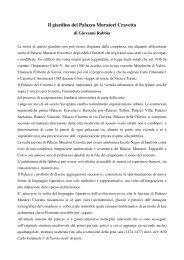 Il giardino del Palazzo Muratori Cravetta - Jardins des Alpes, I ...
