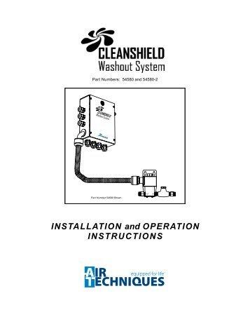 CleanShield - Operators Manual - Air Techniques, Inc.