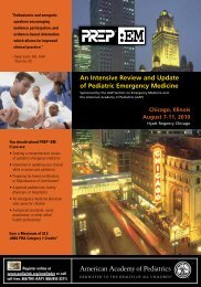 download brochure - American Academy of Pediatrics