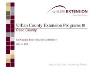 Ray Bader - 2013 Rio Grande Basin Initiative Meeting