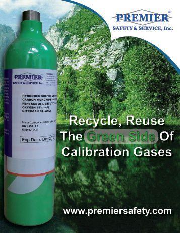Premier Safety & Service, Inc. Calibration Brochure