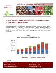 Boletin balanza comercial Cuarto trimestre 2009 - Agronet