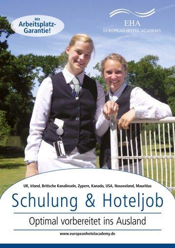 Schulung & Hoteljob