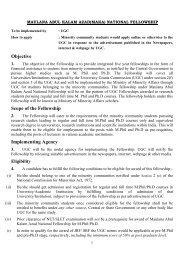 Maulan Abul Kalam Azad National Fellowship. - mwodhule.com