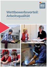 Wettbewerbsvorteil: Arbeitsqualität [PDF, 1MB] - INQA