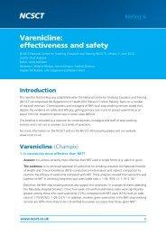6. varenicline [ 2 ] v2 - NCSCT