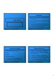 Caso clinico Anamnesi - Sezione di Microbiologia