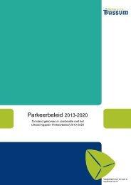 05e-2_Parkeerbeleid_2013-2020 - Gemeente Bussum