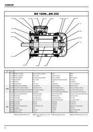 BN 160M...BN 200 - Tecnica Industriale S.r.l.