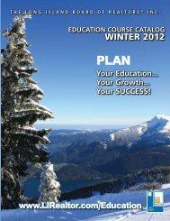 Education courSE cataloG - LIRealtor.com