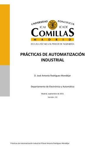 PRÁCTICAS DE AUTOMATIZACIÓN INDUSTRIAL - Departamento ...
