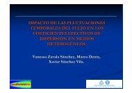 Impacto de las fluctuaciones temporales del flujo en los coeficientes ...