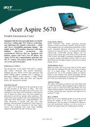 Acer Aspire 2000
