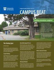 CAMPUS BEAT - University of Victoria