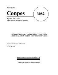Documento 3082 modernización servicios postales - Departamento ...
