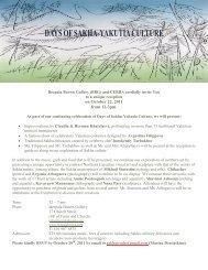 Days of Sakha-Yakutia Culture - Canada Eurasia Russia Business ...