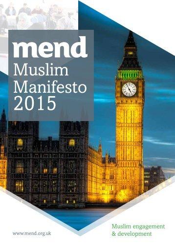 MEND-Muslim-Manifesto-GE2015_LowRes