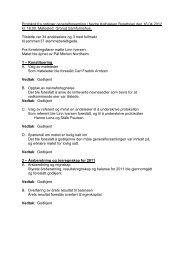 Protokoll fra ordinær generalforsamling i Nedre ... - Herborvi.no