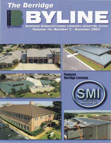 Berridge Color Chart Berridge Manufacturing Co