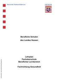 Fachrichtung Gesundheit - Berufliche Bildung in Hessen