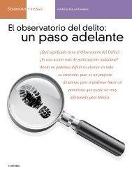 El observatorio del delito: un paso adelante - Coparmex