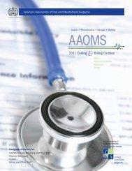Saving Faces - American Association of Oral and Maxillofacial ...