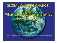 Climate Change What's Happening and What Can We Expect