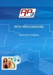 Ajustes por Traspasos - RP3 Retail Software