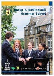 Grammar School Prospectus - brgs.me