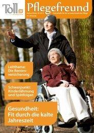 Gesundheit: Fit durch die kalte Jahreszeit - PVD Pflegedienst ...