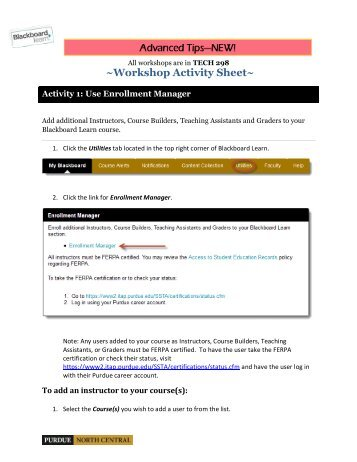 Download the activity handout and tutorials from the Advanced Tips ...