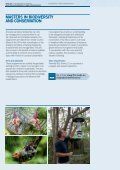 mASTERS iN BiODivERSiTY AND CONSERvATiON - Faculty of ... - Page 6