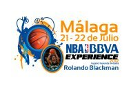 Dossier NBA BBVA Experience On Tour de Málaga - Federación ...