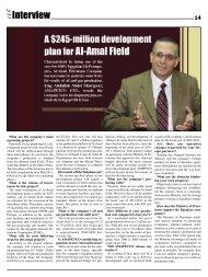 Interview EOG Newspaper December 2010 Issue - Egypt Oil & Gas