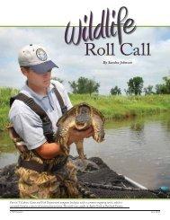 Wildlife Roll Call - North Dakota Game and Fish
