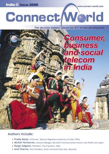 Consumer, business and social telecom in India - Connect-World