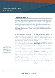 Transatlantique Gestion - CIC